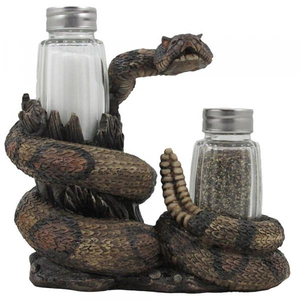 Rattlesnake Salt and Pepper Shakers