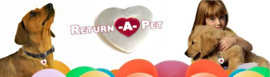 Return-A-Pet banner ad: image via franchiseworks.com