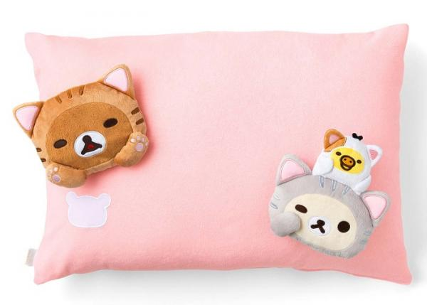 Rilakkuma Cute Doll Pillow Cover Set