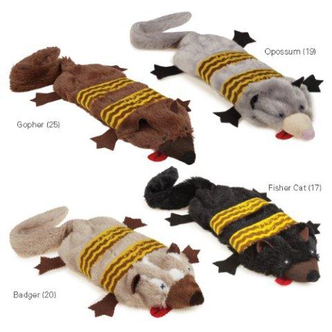 Grriggles Road Crew Unstuffy Pet Toys
