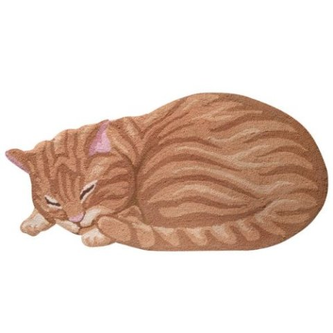 Sleeping Cat Area Rugs -- Ginger Cat