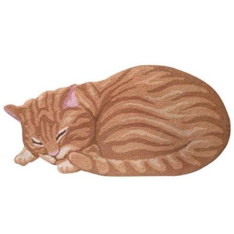Sleeping Cat Area Rugs -- Ginger Cat