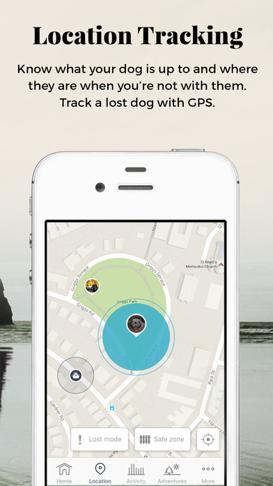 Location Tracking Screenshot