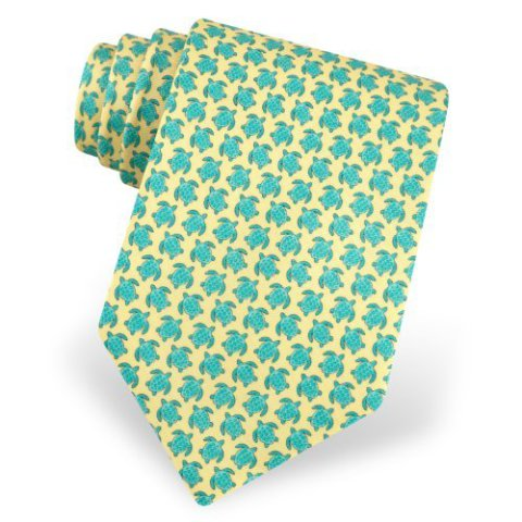 Silk sea turtles tie is the perfect gift for dad