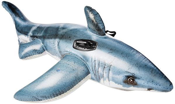 Inflatable Great White Shark Ride-On