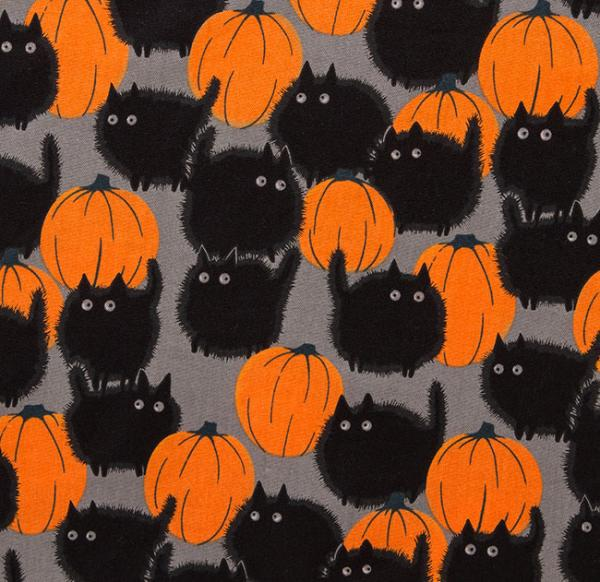 Halloween Kitty Skater Dress