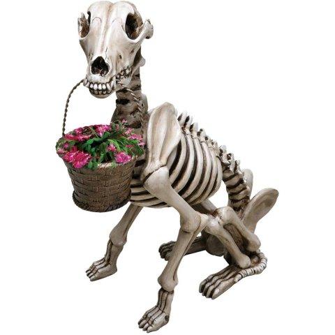 Skel-A-Dog Skeleton Dog Statue