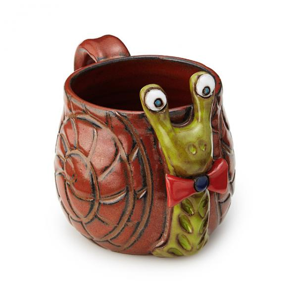 Sheldon the Snail Mug