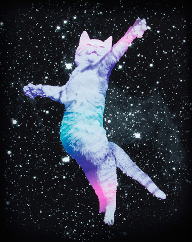Ultra Super Space Kitty Tee