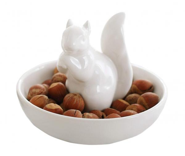 Squirrel Snack Dish