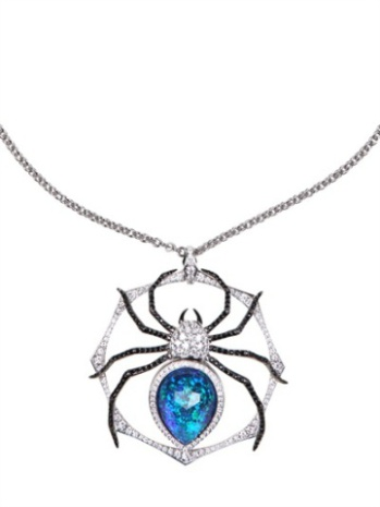Large Spider Pendant Necklace
