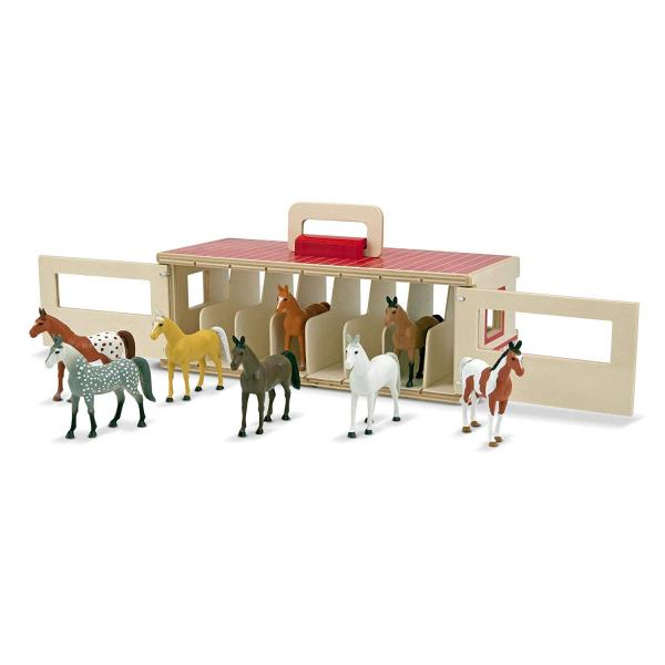 Show-Horse Stable Play Set