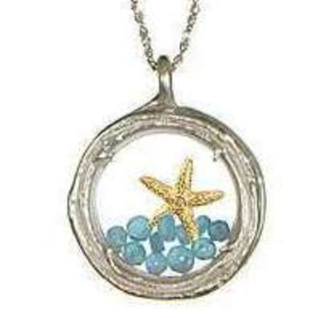 This magical starfish necklace will keep the sea close to your heart