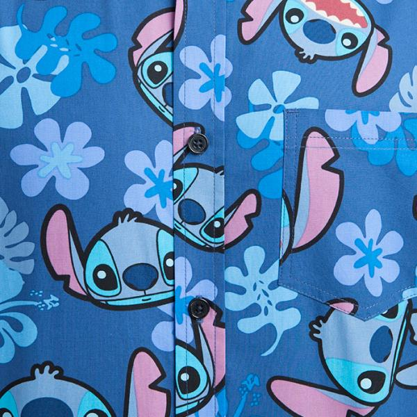 Stitch Hawaiian Short-Sleeve Shirt