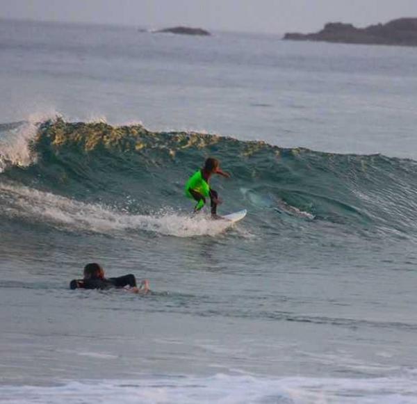 9c98d0e6c7 Kid Surfer Shredding Waves Nearly Shredded By Great White Shark ...