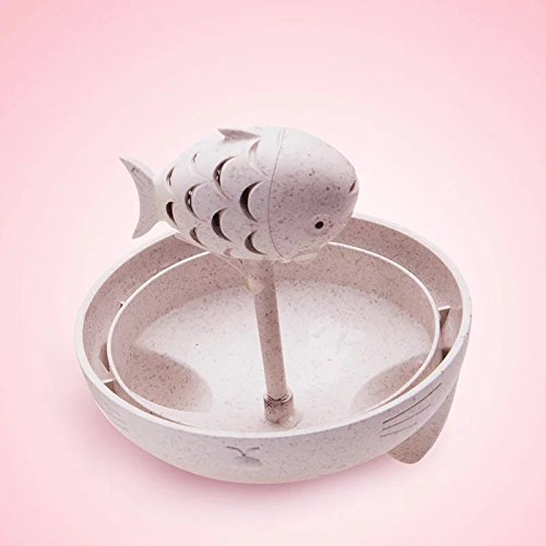 Cat Mug with Fish Infuser