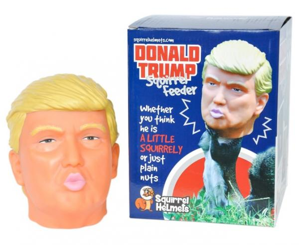 Donald Trump Squirrel Feeder Is A Presidential Nutcase Petsladycom
