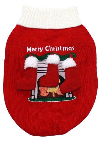 Christmas Stockings Ugly Dog Sweater