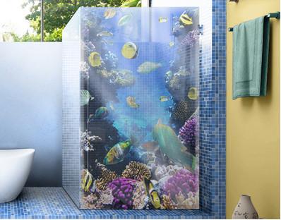 Underwater Dreams Window Decal