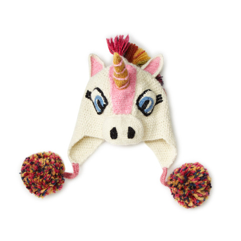 Hand Crocketed Unicorn Hat