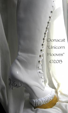 Unicorn Boots (Photo by Oonacat (c)2013)