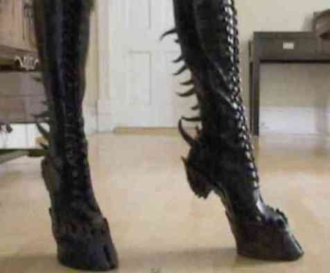 Demon Hooves (You Tube Image)