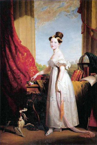 Princess Victoria with Dash (Public Domain Image)