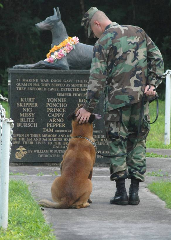 Awesome Paw-some War Dogs Monuments