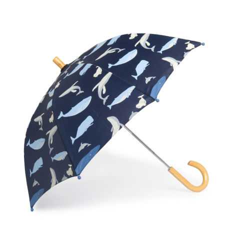 Blue Whales Umbrella for toddlers