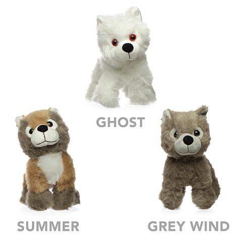 Direwolf Pup Plush Toy