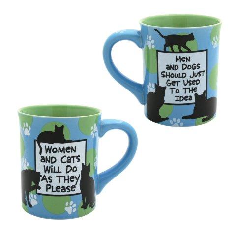 Women and Cats Mug