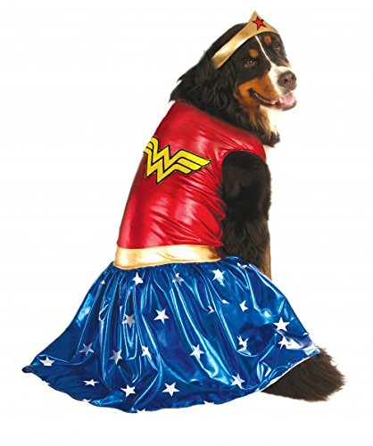 Wonder Woman costume for dogs on Amazon