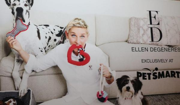 At PetSmart, Ellen DeGeneres In, Martha Stewart Out