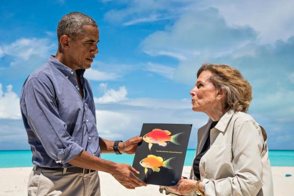 New Species Of Hawaiian Coral Reef Fish Named For President Obama