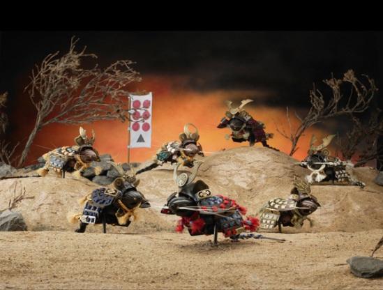 The Seven Samurai Mice by Jeff de Boer: © Jeff de Boer