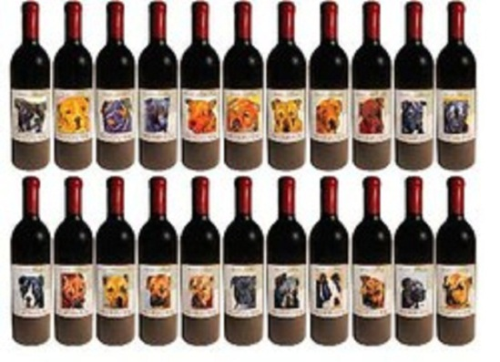 Vicktory Dogs Wine Collection: image via Dog Lover's Wine Club