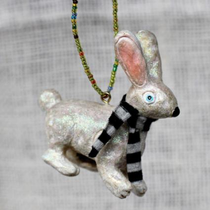 Sir Hop Bunny Ornament