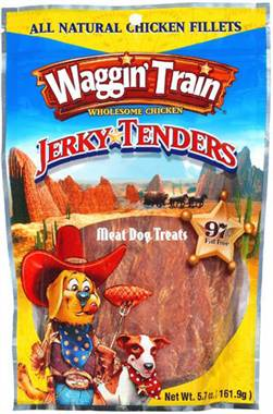 Waggin' Train chicken jerky and other brands recalled