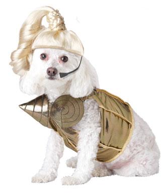 Blond Hambition Dog Costume: image via costumekingdom.com