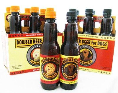 Bowser Beer for Dogs: image via bowserbeer.com