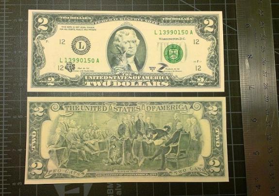 Zarathustra & Hank's Two Dollar Bill