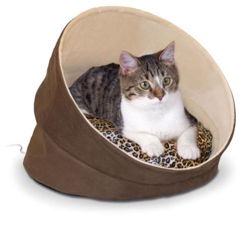 K&H Kitty Cave Cat Bed
