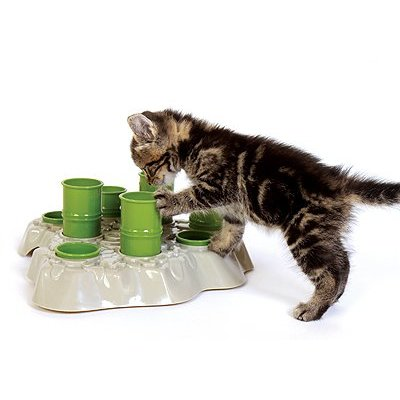 Aikiou Stimulo Interactive Cat Feeder: © Aikiou Company
