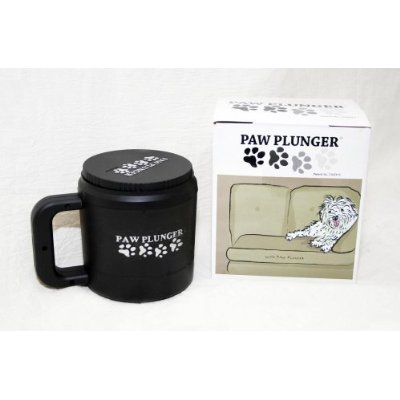 The Paw Plunger, for dirty dog paws