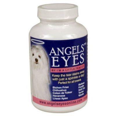 Angel Eyes treatment for teary eyes in dogs and cats