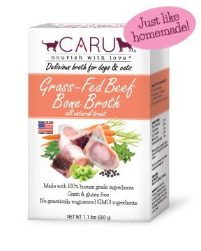 Caru Pet Food Grass-Fed Beef Bone Broth