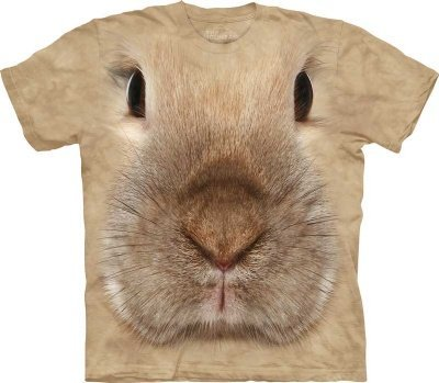 Bunny Face T-Shirt by The Mountain