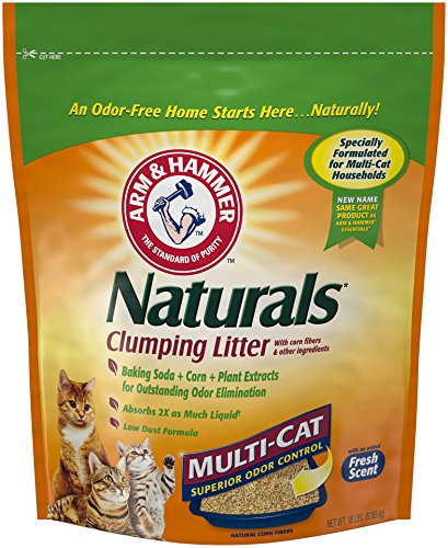 Arm & Hammer Essentials Multi-Cat Natural Clumping Cat Litter