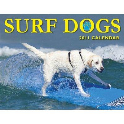 Surf Dogs 2011 Wall Calendar