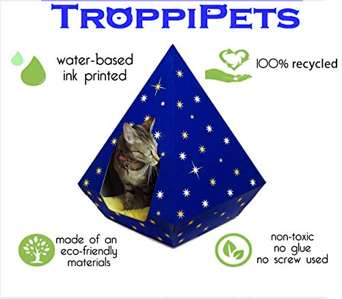 Troppipets Cardboard Cat Teepees